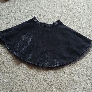 Mini Boden velvet round skirt